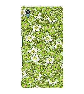 Lotus Flower 3D Hard Polycarbonate Designer Back Case Cover for Sony Xperia Z5 :: Sony Xperia Z5 Dual (5.2 Inches)