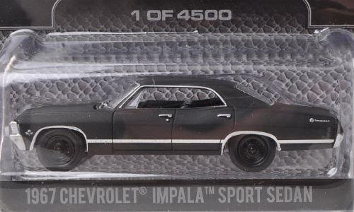chevrolet-impala-sport-sedan-matt-schwarz-1967-modellauto-fertigmodell-greenlight-164
