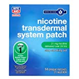 Rite Aid Nicotine Transdermal System, Step One, 21mg Patch, 14 ct.