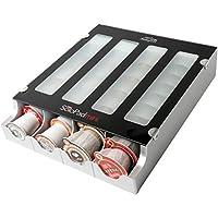 Secure Air Solofill 10731-01-spmblack Coffee K-Cup Pod Dispenser, Mini, Black