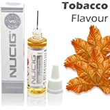 NUCIG® TOBACCO Flavour LARGE 20ml Eliquid ★ Exclusive Integrated Dispensing Point ★ VG Premium Base | for ecigarette | electric cigarette | electronic cigarette | clearomiser | clearomizer | eshisha | ehookah | e cigarette | Nicotine Free | Tobacco Free (Tobacco .)