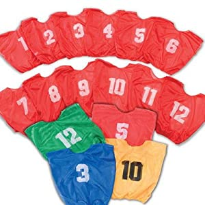 Champion Products Youth Lightweight Numbered Scrimmage Vests by Champion Sports