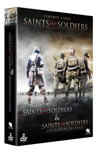Coffret saints and soldiers : saints and soldiers 1 ; saints and soldiers 2 : l'honneur des paras [Francia] [DVD]