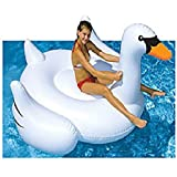 Giant Swan Inflatable Pool Ride On