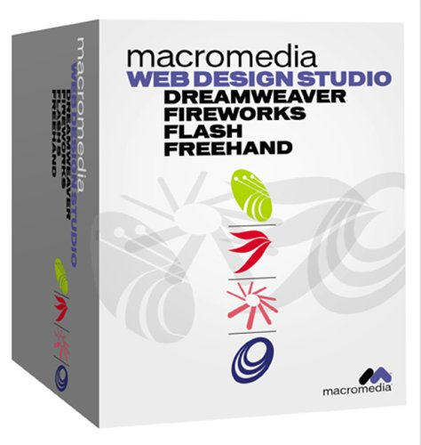Student Web Design Studio (Dreamweaver 4, Fireworks 4, Flash 5, Freehand 10) Mac