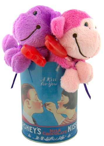 Unique Gift for Him or Her Pink Purple Monkey