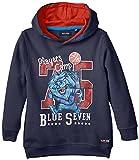 Blue Seven kl Kn Sweatshirt, Kapuze-Sudadera Niños,    azul (DK azul ORIG 574) 3 años (98 cm)