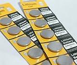 リチウムボタン電池CR2032 10P