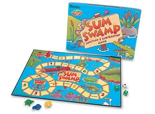 Math games Sum Swamp gifts for kids
