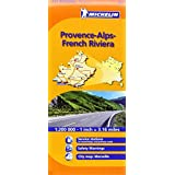 Provence-Alps, French Riviera Michelin Regional Map (Michelin Regional Maps)