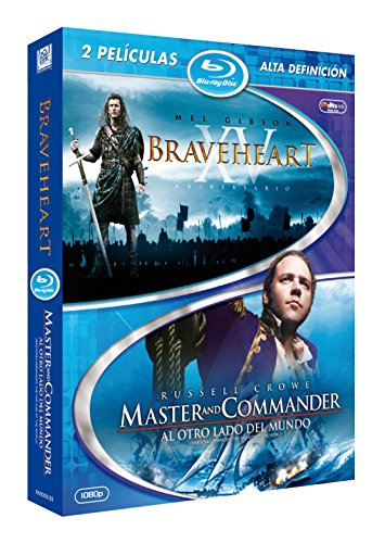 Pack Braveheart + Master &Amp; Commander (Blu-Ray) (Import Movie) (European Format - Zone B2) (2010) James Rob (Master Commander Blu Ray compare prices)