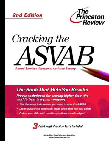 Cracking The Asvab, 2Nd Edition (College Test Preparation)