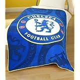 Zap Chelsea Blue Crest Fleece Blanketby Zap Ltd