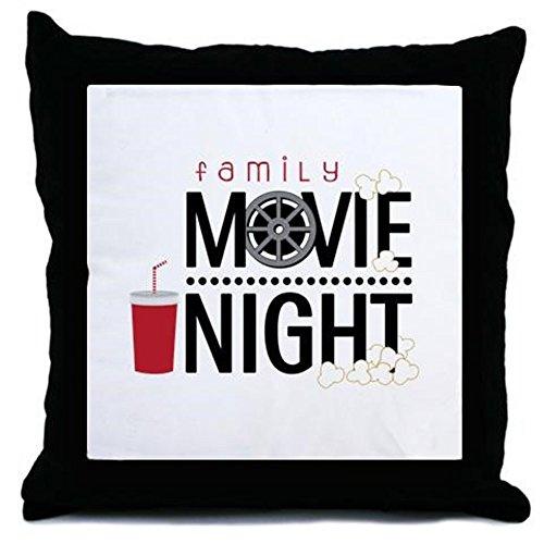 CafePress - Family Movie Night - Throw Pillow, Decorative Accent Pillow (Movie Ticket Accent Pillow compare prices)