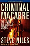 Criminal Macabre: The Complete Cal McDonald Stories (159582118X) by Niles, Steve
