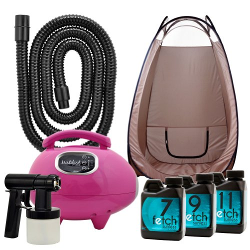 Mistified Pink Spray Tanning Machine Fetch Dha Sunless Spray Brown Tent Kit 2A front-772150