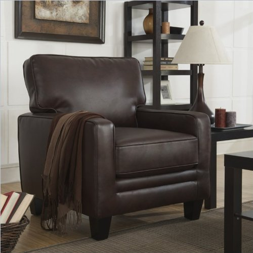 Fantastic Serta Cr 44107 Monaco Collection Track Arm Accent Chair Short Links Chair Design For Home Short Linksinfo