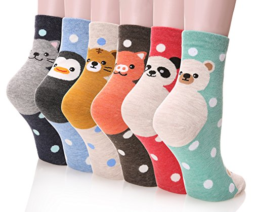 Cute Animal Crew Socks