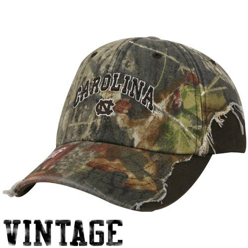 Zephyr North Carolina Tar Heels (UNC) Camo-Brown Trapper II Adjustable Hat
