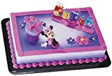 Minnie Mouse Shopping Cake Topper