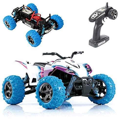 GP TOYS RC Car Rirder 5 Monster Trucks, Remote Control High Speed S609 ATV Off Road Truck Outdoor Toys White (Monster Trucks Rc compare prices)