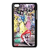 Zombie Little Mermaid Hard Plastic Back Cover Case for ipod touch 4