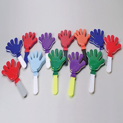 Giant Hand Clapper/Blue-white (d)