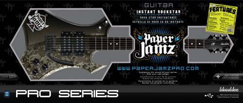 paper jamz pro series guitar Paper jamz turns up the volume with the rocking new online-compatible pro series new functions, new effects new ways to become a rock legend.