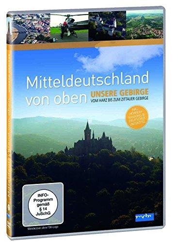 Mitteldeutschland von oben - Unsere Gebirge, vom Harz bis zum Zittauer Gebirge hier kaufen