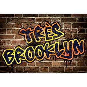 Amazon.com: Tres Brooklyn (Graffiti) Art Poster - 13x19 custom fit