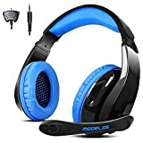 Gaming Headset For PS4 Xbox One Smart Phone Laptop , Multi Function Pro gaming headset With Mic for PS4 xbox one (Black)