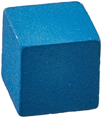 Wooden Cube Tokens, 8mm, Blue