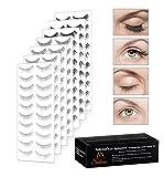 Eye Splashes 70 Pairs False Eye Lashes Bundle - 7 Styles