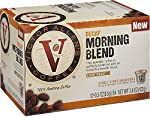 Victor Allen's Coffee, Decaf Morning Blend Single Serve K-cup, 12 Count (Compatible with 2.0 Keurig Brewers)