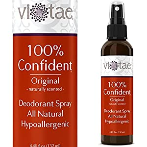 100% Natural, Aluminum Free Deodorant Spray - Original Patchouli