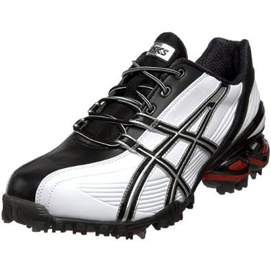 (热卖)ASICS 艾斯克斯GEL凝胶减震高尔夫球鞋-Ace Tour Golf 黑白 $49.09