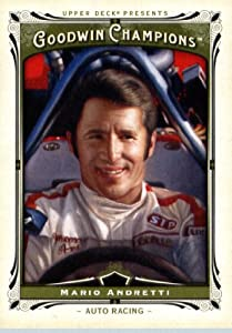 Buy 2013 Upper Deck Goodwin Champions Trading Card #58 Mario Andretti by 2012 Goodwin Champions