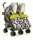 Cosatto Supa Dupa Twin Stroller (Boggles)