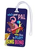 National Design Disney Inside Out Backpack ID Tag (13862-IOU)