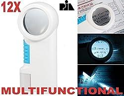Pia International 12X Magnifying Glass