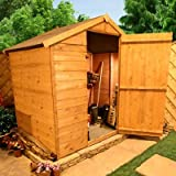 BillyOh 4' x 6' Windowless Value Tongue and Groove Apex Garden Shed