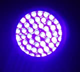 395 nM 51 UV Ultraviolet LED flashlight Blacklight 3 AA, 7202UV395
