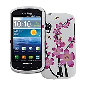 EMPIRE Verizon Samsung Stratosphere Spring Flowers Rubberized Design Hard Case Cover [EMPIRE Packaging]