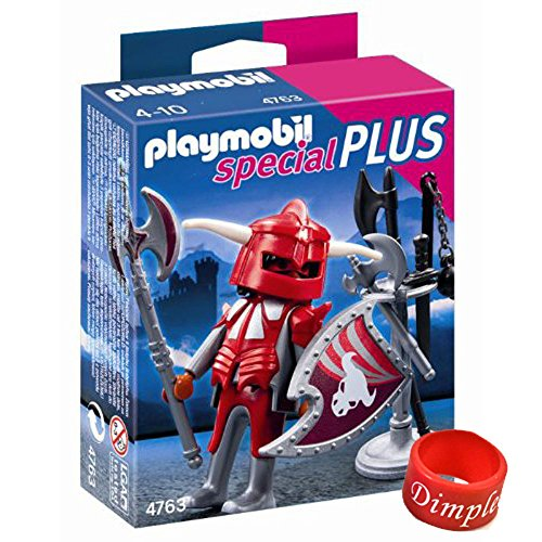Playmobil Knight with Armory With DimpleChild Ring