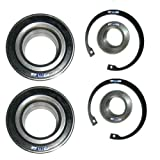 2x Wheel Bearing Kit REAR BMW 3 SERIES E36 E46 320 325 330 M3 3.0 3.2 , 7 SERIES E38 725 728 730 735 740 750 , 8 SERIES E31 840 850, X3 E83 2.0 2.5 3.0, Z3 E36 Z4 E85 E86 3.2, Z8 E52 4.9;