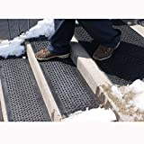 "HOT-Blocks Outdoor Heated Anti-Slip Doormat, 120 Volts, 24"" X 36"""