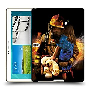 Official Jason Bullard No Greater Love Fireman Rescue Firefighter Hard Back Case for Samsung Galaxy Tab S 10.5
