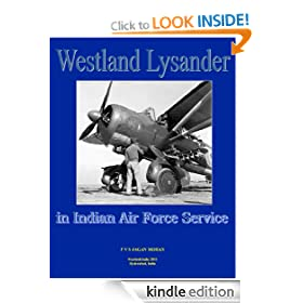 The Westland Lysander in Indian Air Force Service (Aircraft of the Indian Air Force)