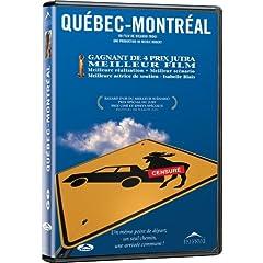 Pochette du DVD de Québec-Montréal