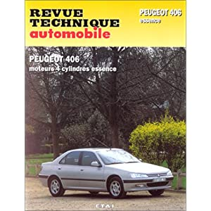 Revue technique automobile Peugeot 406 essence